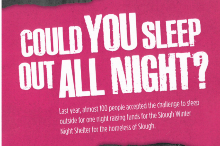 COULD YOU SLEEP OUT ALL NIGHT?